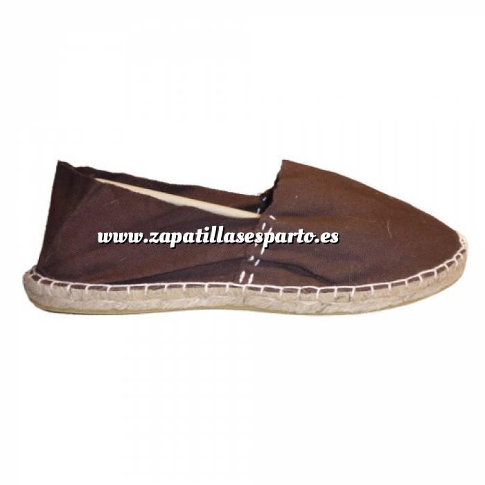 Imagen Marrón Chocolate CLASH Alpargata Clásica cerrada HOMBRE color MARRON CHOCOLATE Talla 41
