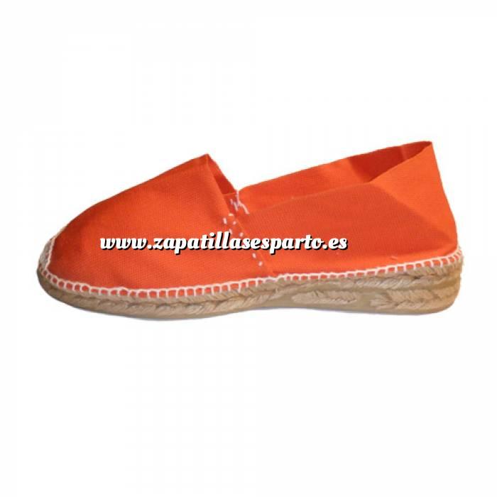 Imagen Naranja CLAS3 Alpargata Clásica Tacón 3 cms Naranja Talla 40
