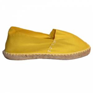Imagen 420_CLASM Alpargata Clásica cerrada Mujer Amarillo Talla 35