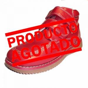 Rojo - BTIN Botín niño en piel Rojo Talla 33