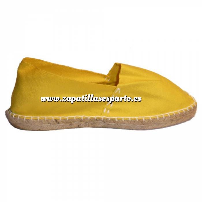 Imagen Amarillo CLASM Alpargata Clásica cerrada Mujer Amarillo Talla 37