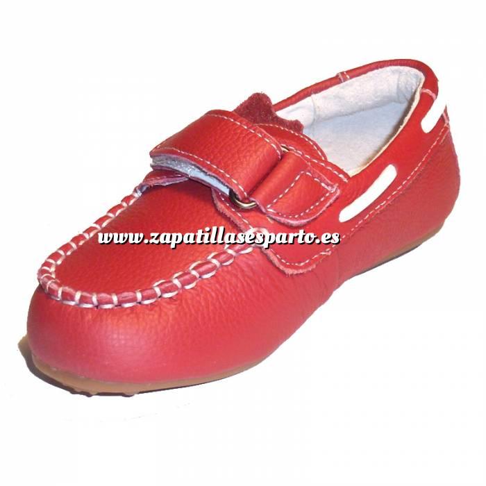 Imagen Rojo NAUT Náutico Piel Niño Rojo Talla 30