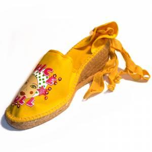 Amarillo - Mujer valenc. Diseño CH2267 Amarillo Talla 40