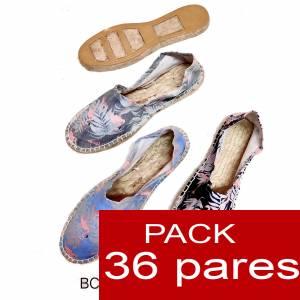 Mujer Estampadas - Alpargata estampada FLAMENCOS ( BC-009 ) Caja 36 pares (Últimas Unidades)