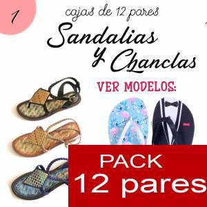 Imagen Sandalias y Chanclas Chanclas NOVIO - Caja 12 pares - Tallaje a Elegir